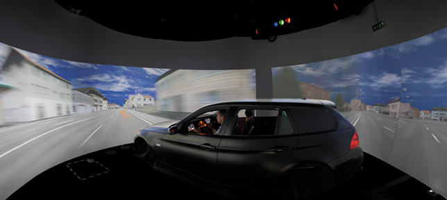 BMW Dynamic Driving Simulator, BMW Group Centre of Driving Simulation and Usabilty