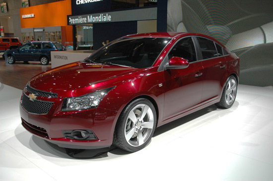 Chevrolet Cruze will help US owners downsize