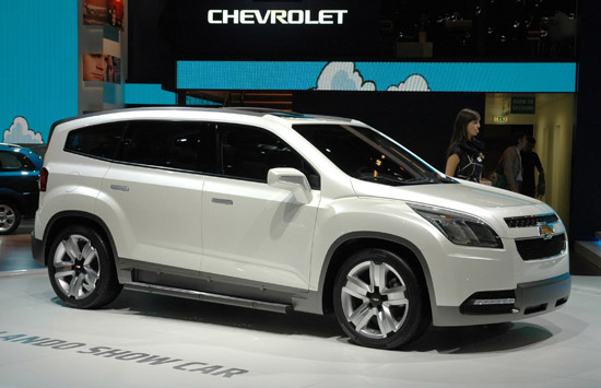 Chevrolet Orlando – concept is likely to become reality next year