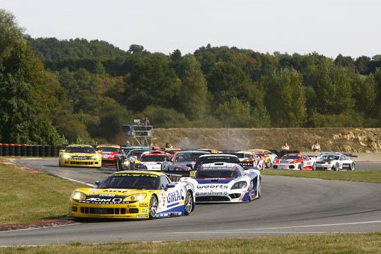 Corvette at FIA GT Championship - Nogaro circuit