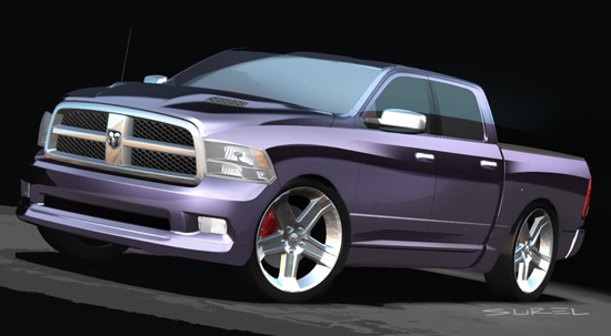 Dodge Ram Mopar Street Package