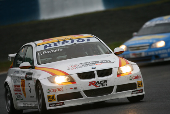 Felix Porteiro (ESP), BMW Team Italy-Spain, BMW 320si - Okayama International Circuit