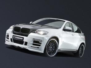 hamann motorsport sharpens the driving performance and image of the bmw x6