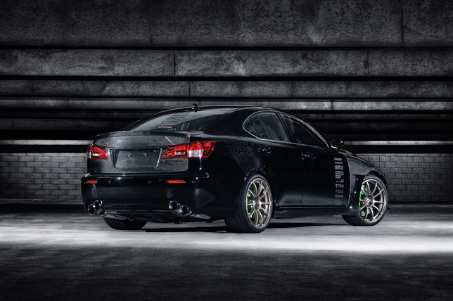 Lexus IS F by 0-60 Magazine