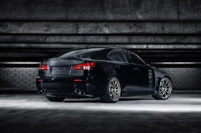 Lexus IS F by 0-60 Magazine