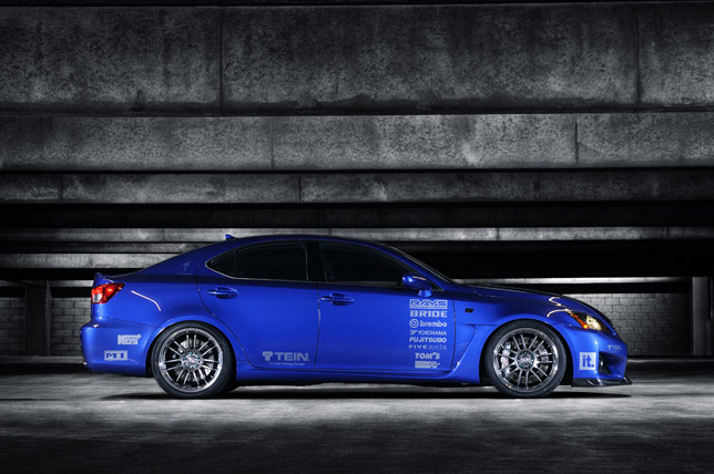 Lexus IS F by Import Tuner Magazine/TEIN