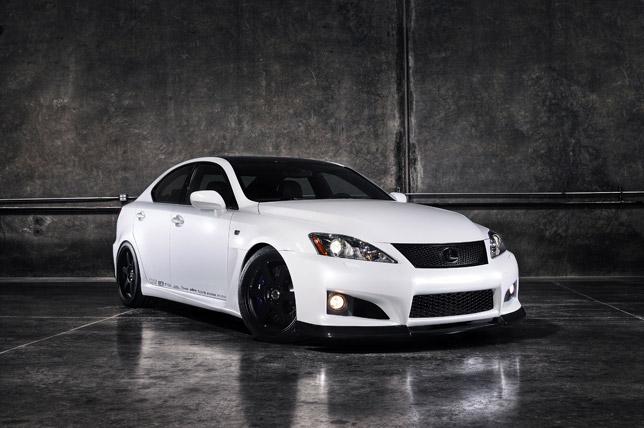 Lexus IS F by MotorworldHype.com