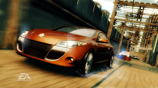 NFS Renault Megane Coupe