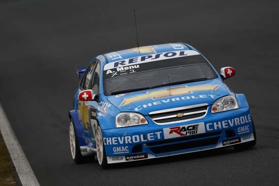 Okayama, Race of Japan Testing Alain Menu
