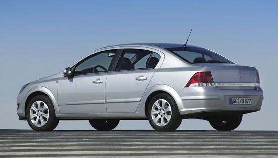Opel Astra Four Door Notchback