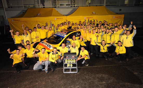 SEAT Sport Racing Team, World Touring Car Champion