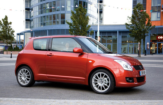 Suzuki Swift given more attitude