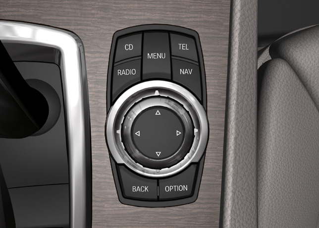 The new BMW 7 Series, iDrive Controller