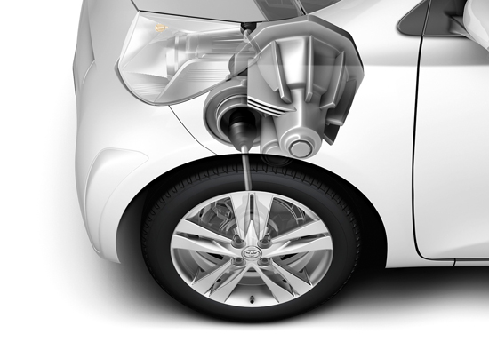 Toyota iQ Differential