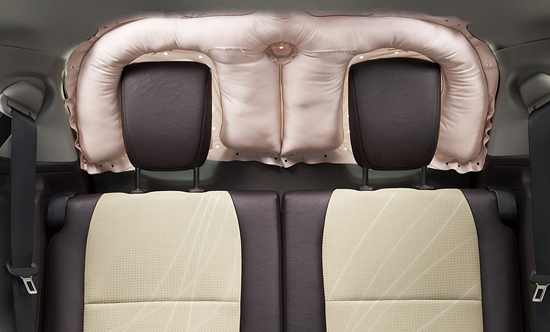 Toyota shield airbag