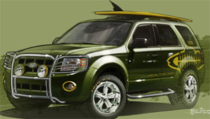 2009 Ford Escape Hybrid by EcoTrek