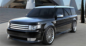 2009 Ford Flex by Catalyst Industrial Marking