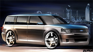 2009 Ford Flex by CGS Motorsports