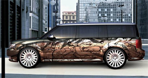 2009 Ford Flex by Kal KonceptsAir Syndicate Inc.