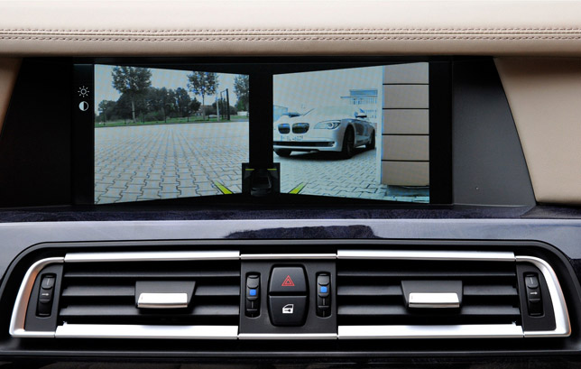 Side View Cameras in the new BMW 7 Series