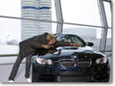 Olympic Champion Usain Bolt tests the BMW M3