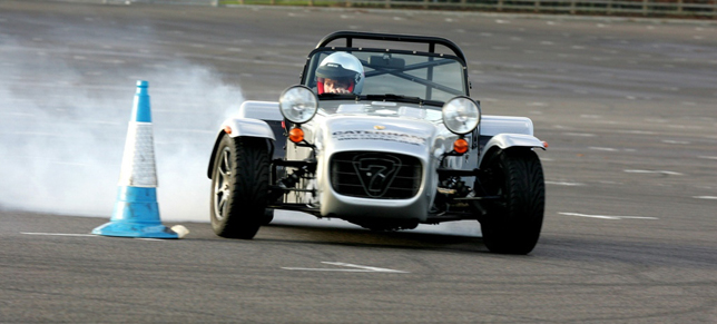 Caterham Drive Experience: The Ultimate Christmas Drift