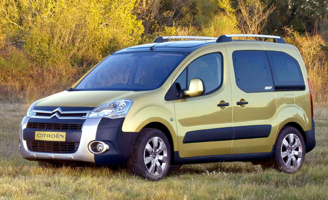 Citoren Berlingo Multispace - MPV of the year 4x4 & MPV Driver Magazine