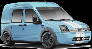 Ford Transit Connect Concept by H&R Special Springs
