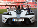 KTM X-Bow selected for the race of champions
