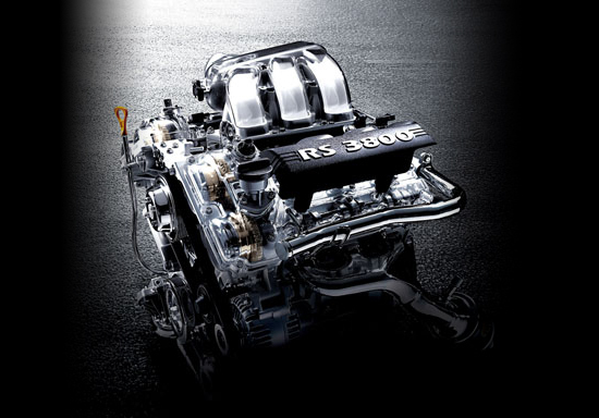 Lambda RS 3.8 Engine