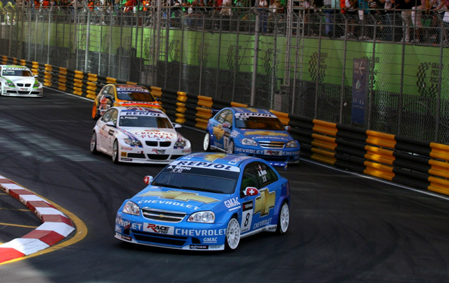 Macau Race of China - Alain Menu
