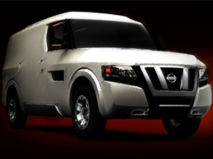 nissan nv2500 concept set for debut