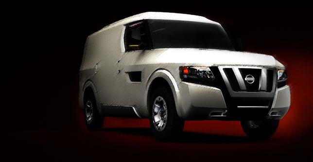 Nissan NV2500 Concept Sketch