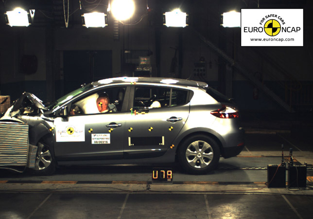 Renault's New Megane Achieves Maximum Score In Euro Ncap Crash Test