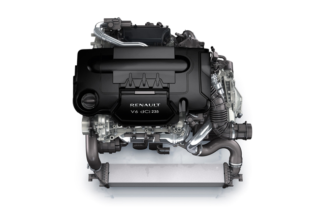 Renault-Nissan alliance V6 dCi engine