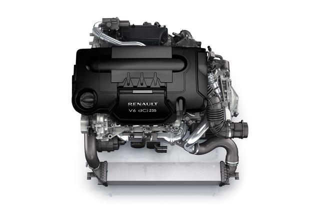 Renault-Nissan alliance V6 dCi engine