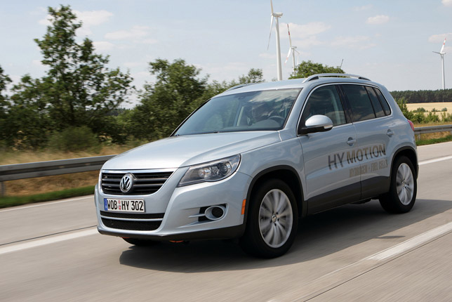 Research prototype Tiguan HyMotion