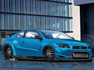 2009 scion tc release series 5 0 gloss black. Black Bedroom Furniture Sets. Home Design Ideas