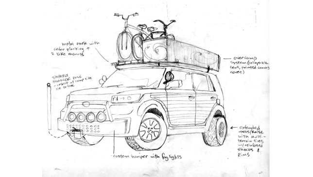 SCION xB by BLAINE FONTANA