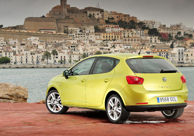 The award-winning Seat Ibiza 5dr
