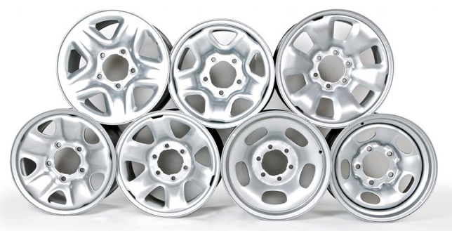 Toyota Genuine Steel Wheels