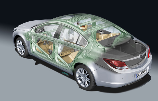 Vauxhall Insignia scores five stars in Euro NCAP Safety Test