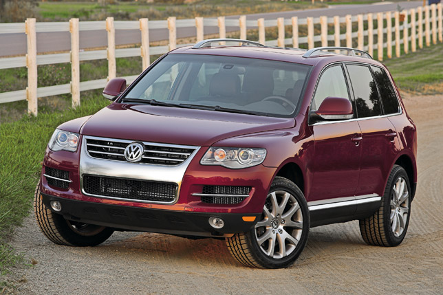 Volkswagen Touareg TDI with Clean