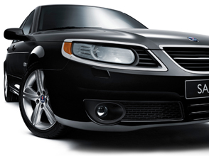 2009 saab 9-5 griffin edition takes off in detroit