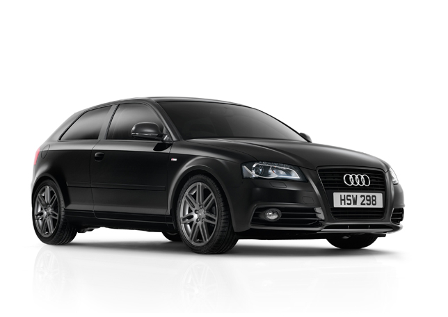 The new Audi A3 Black Edition. Black interiors too
