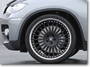 HAMANN 22 inch light alloy wheel design