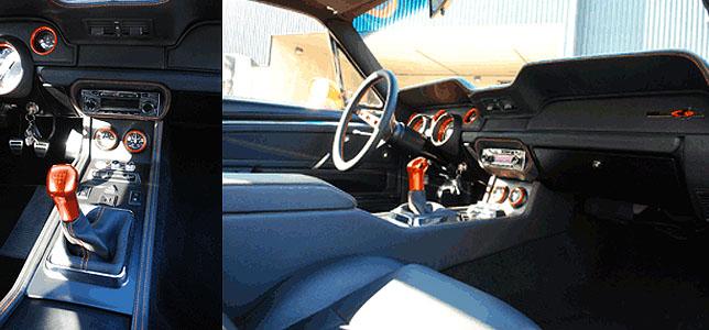 Mustang Equus CDC Interior