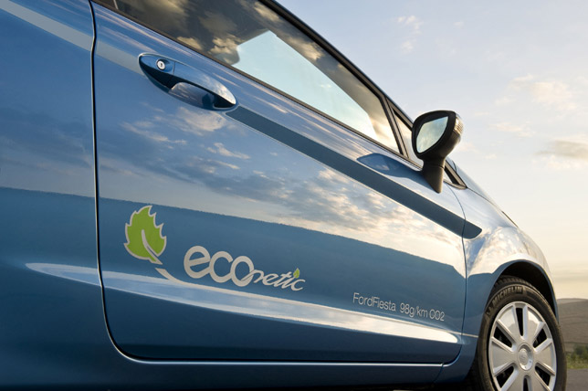 Ford Fiesta ECOnetic offers 76.3 mpg and, with CO2 at 98g/km, is road tax exempt