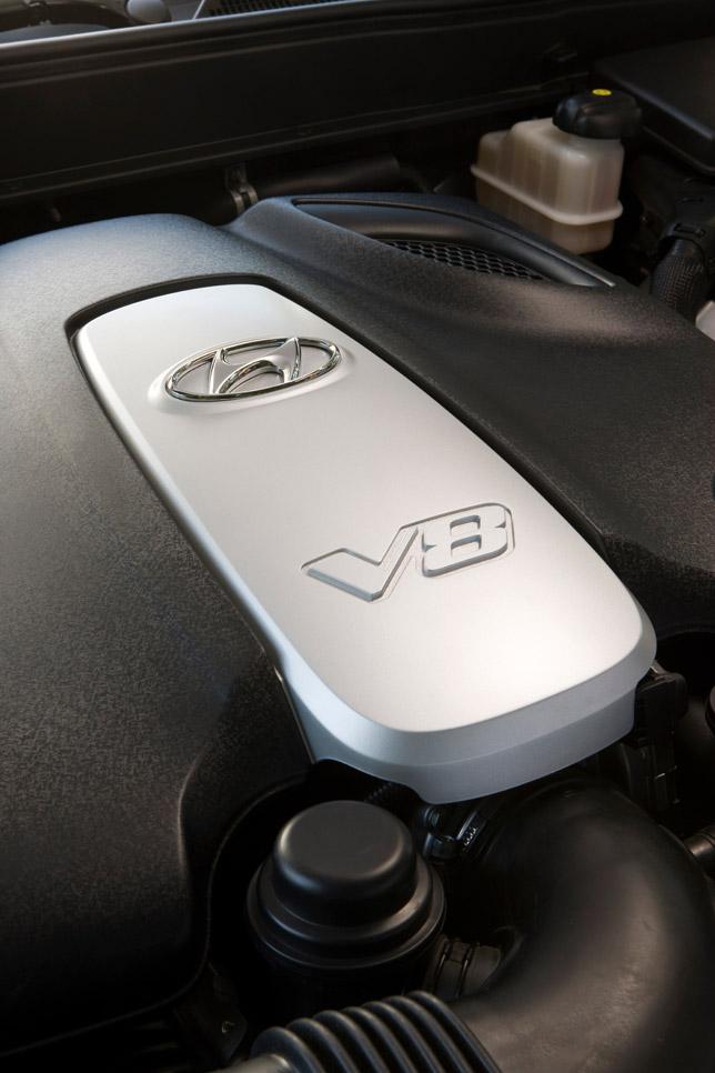 Tau V8 Engine - Hyundai Genesis