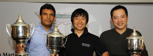 Kota Sasaki becomes 2008 Aston Martin Asia Cup Champion